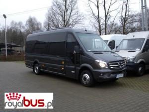 Bus Mercedes Sprinter 519 — komfortowe fotele VIP
